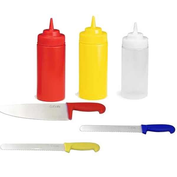 Knives & Squeeze Dispensers