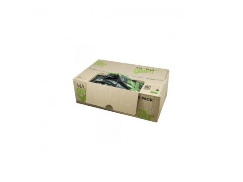 "SACK DISP BOX MAXIMA BLACK 18X29X38"" 15KG"
