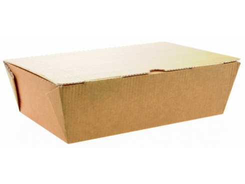 BOX LARGE FOOD TO GO NO WINDOW 185X125X60M