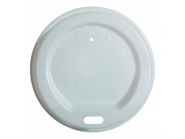 LID COMPOSTABLE FOR 8OZ CUPS