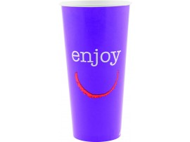 CUP COLD ENJOY 22OZ