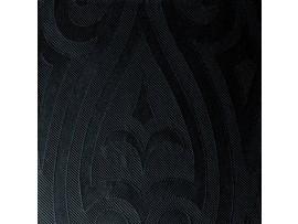 NAPKIN ELEGANCE LILY BLACK 48CM