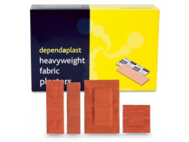 PLASTERS FABRIC ASSORTED