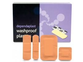 PLASTERS DEPENDAPLAST WASHPROOF ASSORTED
