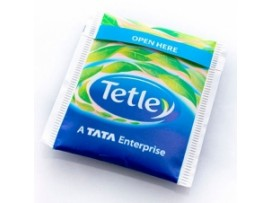 BAG TEA ENVELOPED TETLEY