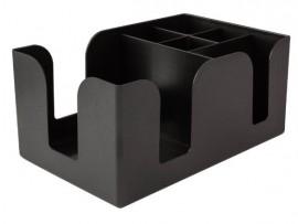 CADDY BAR PLASTIC BLACK