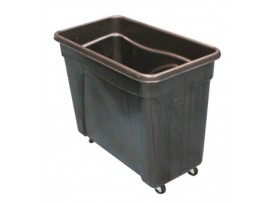 BIN SKIP BOTTLE BLACK 235LT