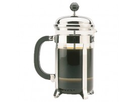 COFFEE AND TEA MAKER CHROME 0.8LT