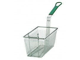 BASKET FRY MESH RECTANGULAR 13X6.5X6""