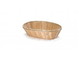 BASKET HANDWOVEN OVAL 9X6X2.25""