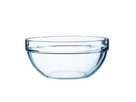 BOWL SALAD GLASS 7.75""