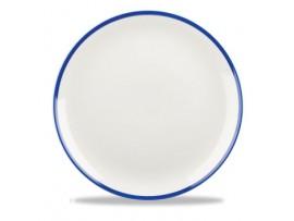 RETRO BLUE COUPE PLATE 21.7CM