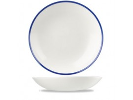 RETRO BLUE COUPE BOWL 18.2CM