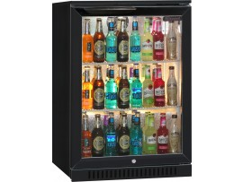 COOLER BOTTLE BLIZZARD 1 DOOR BLACK BAR1