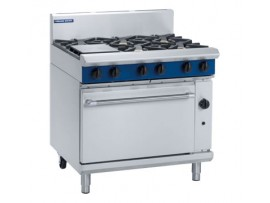 RANGE 6 BURNER GAS BLUE SEAL G506D