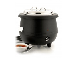KETTLE SOUP ELECTRIC WET HEAT BLACK 10LT