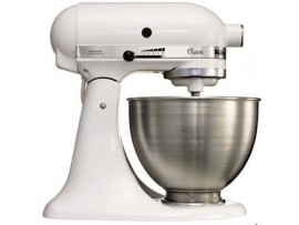MIXER FOOD KITCHENAID K45 WHITE 4.3LT
