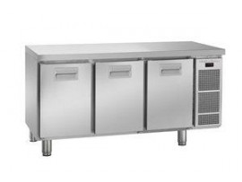 FRIDGE COUNTER SNOWFLAKE 3DR K1605 SS 364L