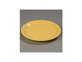 PLATE DINNER MELAMINE YELLOW 23CM