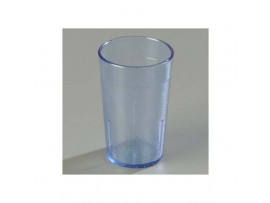 TUMBLER MELAMINE FLUTED BLUE 15CL