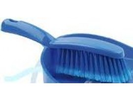 BRUSH FOR USE WITH DUSTPAN BLUE