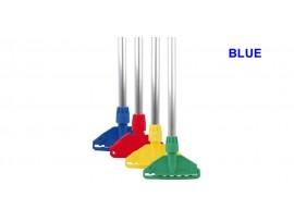 MOP HANDLE & CLIP KENTUCKY/STAYFLAT BLUE