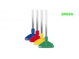 MOP HANDLE & CLIP KENTUCKY/STAYFLAT GREEN