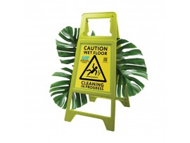 SIGN WET FLOOR FOLDING SAFEGUARD