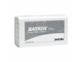 HAND TOWEL KATRIN PLUS CFOLD 2PLY WHITE