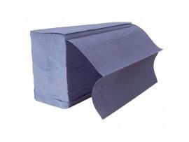 Z FOLD HAND TOWEL 1PLY BLUE     HTBZ