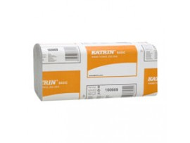 HAND TOWEL KATRIN ZZ NATURAL 1PLY