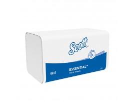 HAND TOWEL SCOTT ESSENTIAL WHITE 1PLY
