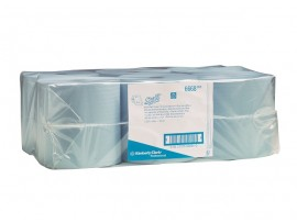 ROLL TOWEL SYSTEM SCOTT 1PLY BLUE 304M