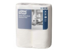 ROLL KITCHEN TORK EXTRA ABSORBENT 2ROLL