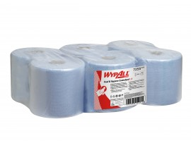 CENTREFEED WIPER WYPALL L10 BLUE 1PLY