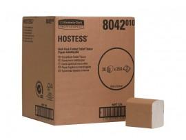 TOILET TISSUE BULK PACK HOSTESS WHITE 2PLY