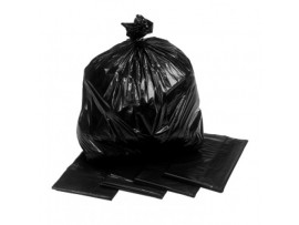 "SACK REFUSE BLACK 18X29X38"" 15KG+"