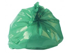 "SACK REFUSE GREEN 18X29X38"" 10KG"