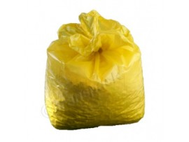 "SACK REFUSE YELLOW 18X29X39"" 10KG"