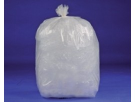 "SACK REFUSE CLEAR 18X29X39"" 5KG"