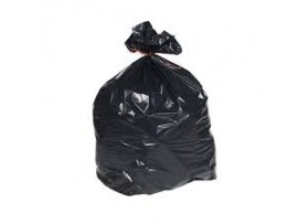 "SACK REFUSE BLACK 20X34X39"" 15KG"
