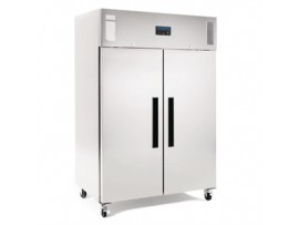 FRIDGE DOUBLE DOOR STAINLESS STEEL POLAR