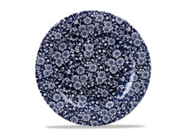 """PLATE VICTORIAN CALICO WILLOW 10 5/8"""""""