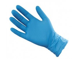 GLOVES FOOD PREP PLA BLUE MEDIUM