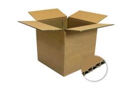 BOX CARDBOARD SINGLE WALL 406X356X203MM