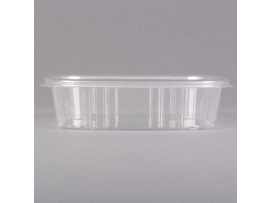 CONTAINER DELI RECTANGULAR PLA 8OZ