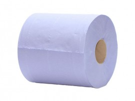 CENTREFEED BLUE RECYCLED 2-PLY