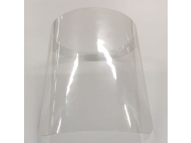 VISOR DISPOSABLE APET CLEAR