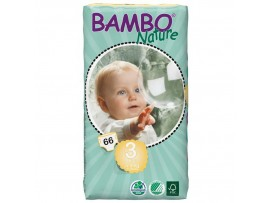 NAPPIES BAMBO NATURE SIZE 3 MIDI TALL