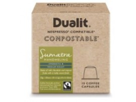 CAPSULE COFFEE DUALIT COMPOSTABLE SUMATRA